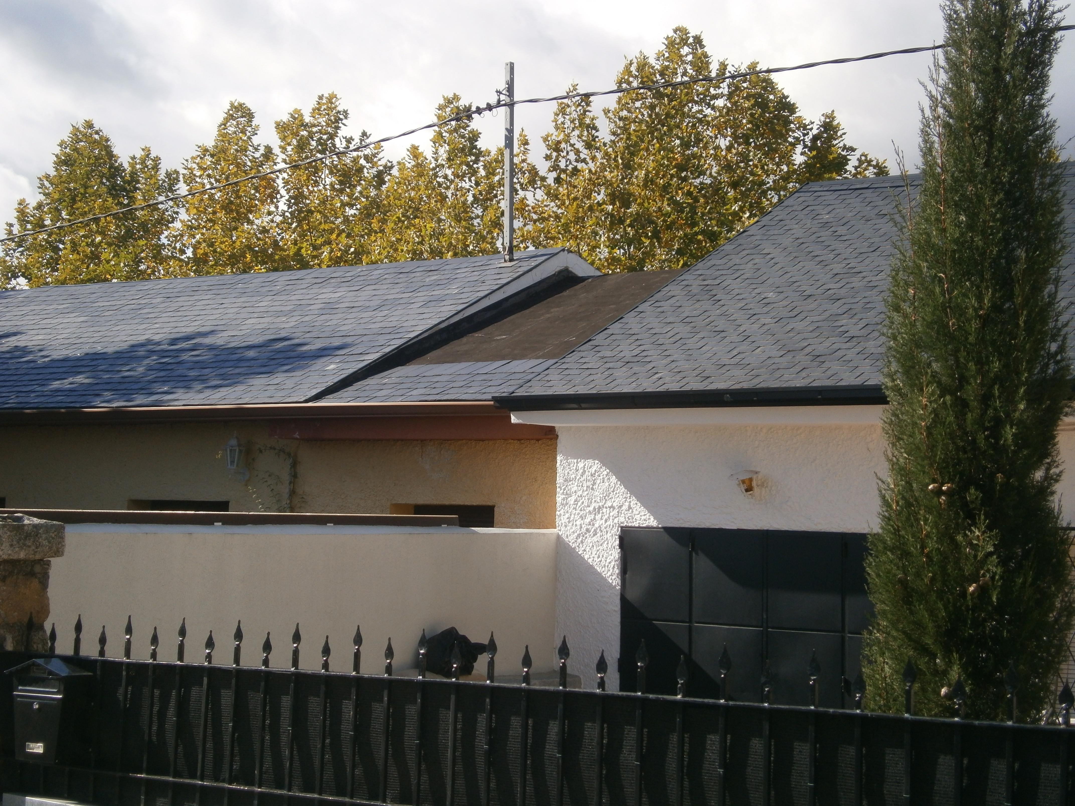 construcción y reparación de cubiertas y tejados