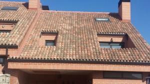 Tejado de teja Madrid
