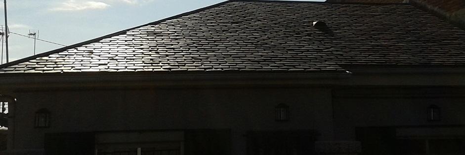 reforma tejado pizarra