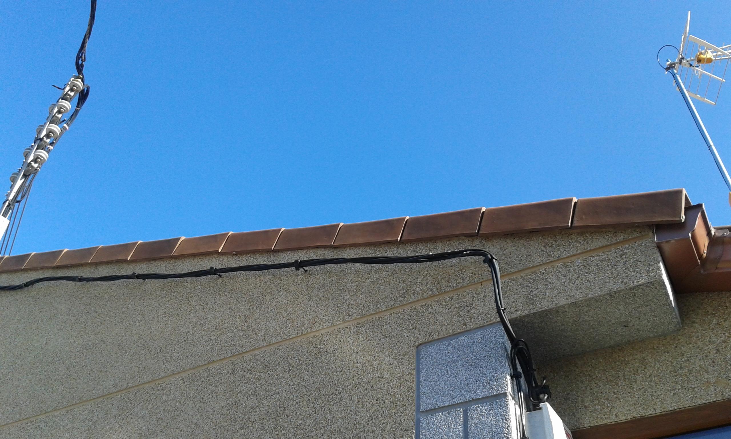 remate tejado teja
